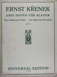 Zwei Suiten fur Klavier