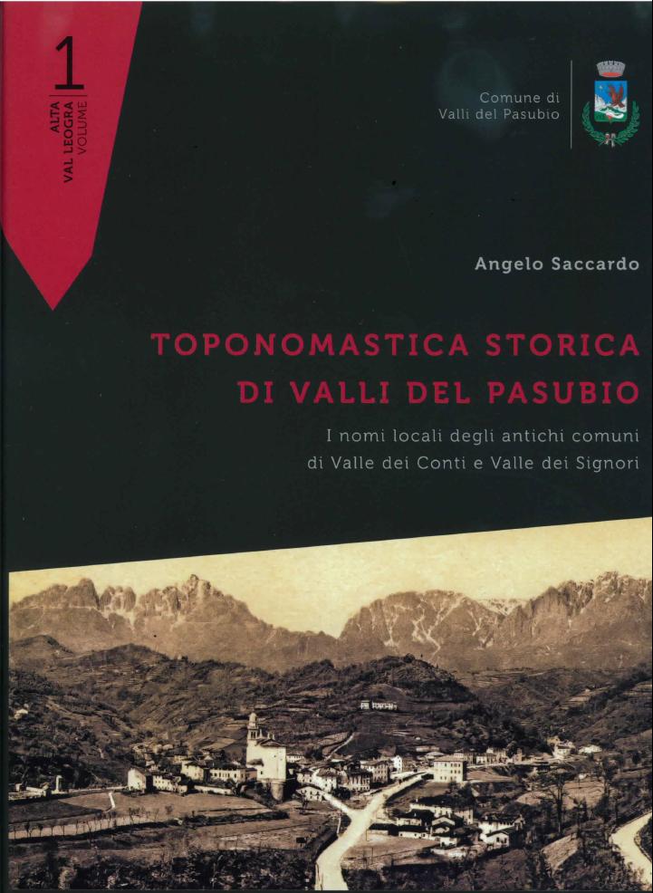 Toponomastica storica di Valli del Pasubio