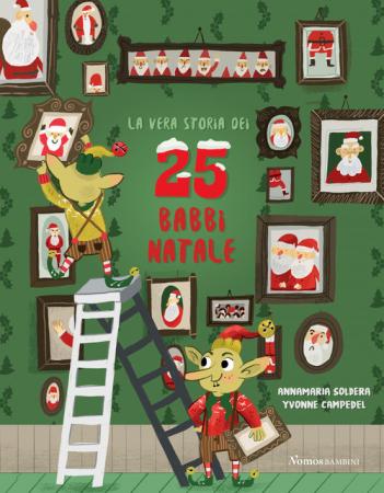 Vera storia dei 25 babbi Natale
