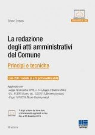 La redazione degli atti amministrativi del comune
