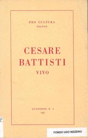 Cesare Battisti vivo