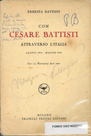 Con Cesare Battisti attraverso l'Italia